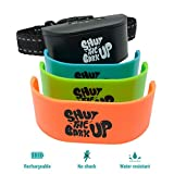 Bark Collar Small Dog to Medium Dog – Non Shock No Bark Device, Pain-Free, Safe, Ultrasonic Vibration – Dog Training Collars for Barking and Behavior – Rechargeable with USB Cord and Colorful Tags