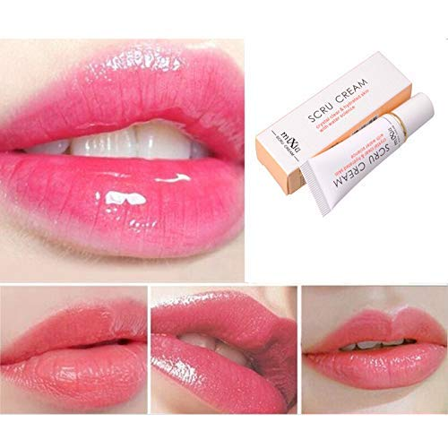 Professional Moisturizing Full Lips Cosmetics Remove Dead Skin Lip Care Exfoliating Lip Scrub Cream Beauty glazed