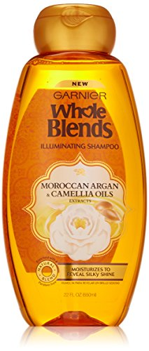 Garnier Whole Blends­ Moroccan Argan & Camellia Oils Extracts Illuminating Shampoo - 22 fl oz
