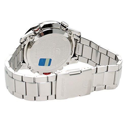 8e9ba5e0493d Relógio Casio Edifice Twin Sensor Cronógrafo Anadigi Masculino ERA-300DB-1A   Amazon.com.br  Amazon Moda