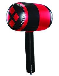 Rubie's Costume Co Women's Batman Harley Quinn Inflatable Mallet Black,red