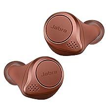 Jabra Elite Active 75t - Auriculares deportivos inalámbricos con Cancelación Activa de Ruido y batería de larga duración para llamadas y música, Sienna