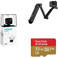 GoPro HERO Session w/ 3-Way Grip and Memory Card