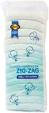 Algodón Hidrófilo Zig-Zag Ayala 100gr: Amazon.es: Alimentación y ...