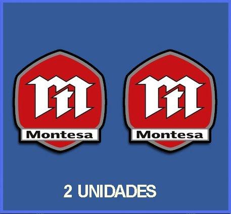 5 cm Dp166 Aufkleber Autocollants Adesivi Moto Decals Motorcycles Ecoshirt AG-M8LL-99PK Pegatinas Stickers Montesa Ref