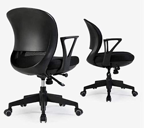 Kontorsstol skrivbordsstol kontorsstol, skrivbordsstol, höjd justerbar, ergonomisk nätstol, 360° roterbar, sitthöjd kan justeras fritt