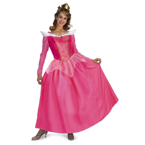 Aurora Prestige Costume - Large - Dress Size (Deluxe Sleeping Beauty Dress)