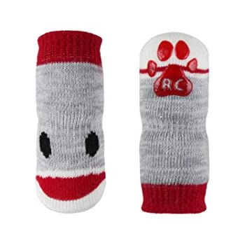 RC Pet Products Pawks Dog Socks, Large, Puppet