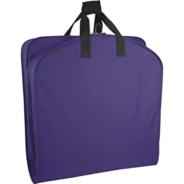 WallyBags 40 Inch Garment Bag, Purple, One Size