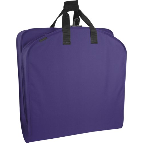 "WallyBags Luggage 52"" Garment Bag, Purple"