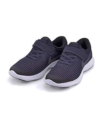NIKE (나이키) 키즈 운동화 통학 신발 레볼루션 4PSV 고무줄 스트랩 통기성 REVOLUTION 4 PSV GS
