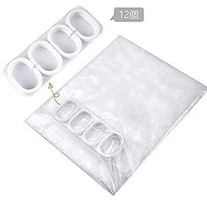 duschvorhang in der verpackung
