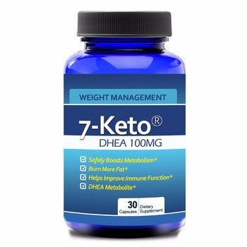 Keto 7 Health and Fitness dhea Supplement for Weight Loss. Promotes Lean Muscle Mass, Restoring Youthful Energy Levels.30 Count(one a Day). For Sale