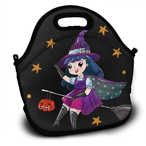 HGDGF Variety Daily Halloween Portable Love Lunch ContainerReturn Picnic Lunch Box Handbag for Women Men And Adults£¬ Printing Wear Resistance -