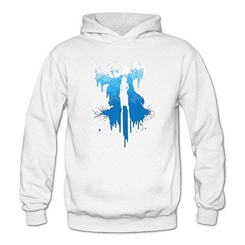 Custom Women's Bioshok Water Girl Silhouette Sweatshirt Pullover Hoodie