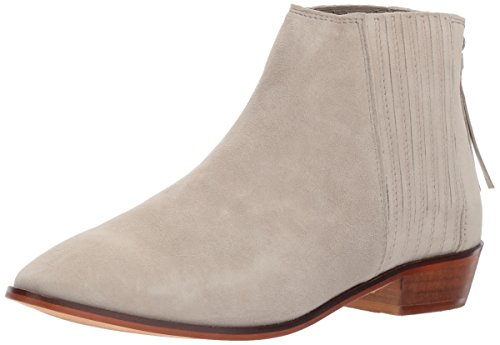 REACTION Loop Ankle Kenneth Gusset Taupe Cole Women's Suede y Flat Finger 5tqOTw