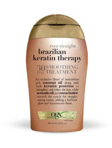 ORGANIX BRAZILIAN KERATIN THERAPY 30-DAY SMOOTHING TREATMENT KIT 3.3oz or 90 ml by Organix