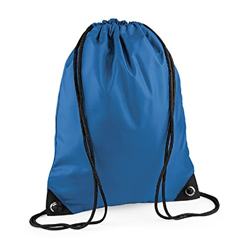 Sapphire Retro Pocket Blue BagBase Zipped Colours Unisex shoulder bag Strap fw5qSv