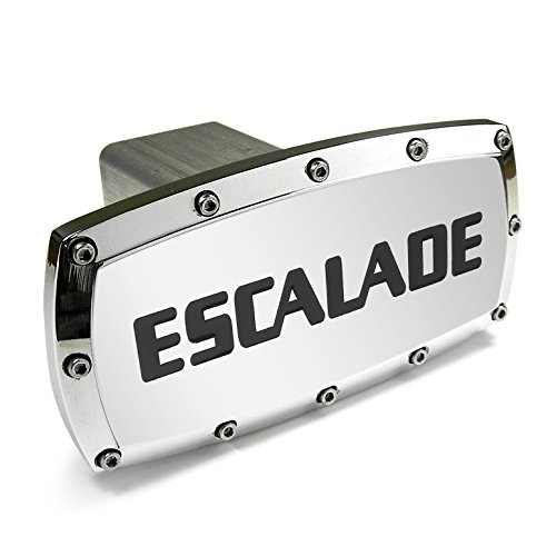 - Cadillac Escalade Billet Aluminum Tow Hitch Cover