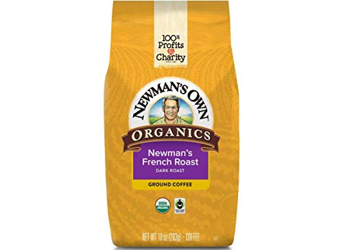 Newman's Own?Organics Fair Trade Certified Newman's French Roast, 10-Ounce Bags (Pack of 3)