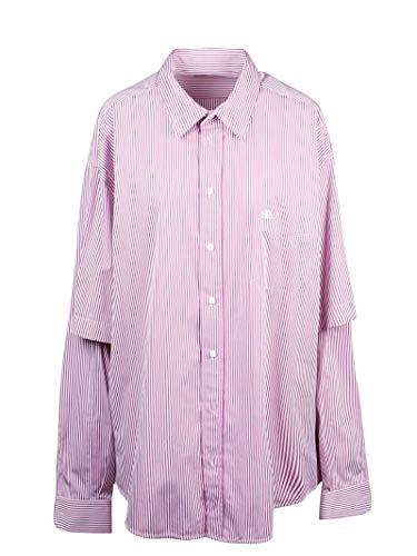 Balenciaga Luxury Fashion Mens 595219TGM025075 Pink Shirt | Fall Winter 19