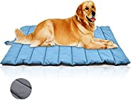 Dog Mats Waterproof Summer Cooling Dog Mat Outdoor Travel Protable Pet Bed Kennel for Puppy Kitten Anti-Bit Te