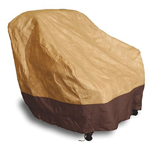 Waterproof Outdoor High Back Patio Rattan Chair Seat Furniture Cover Protection