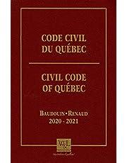 Code civil du Québec 2020-2021