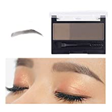 Nigun Instant Eyebrow Stamp Waterproof Powder Makeup Set Adjustable Eyebrow Stamp Women Makeup Tools