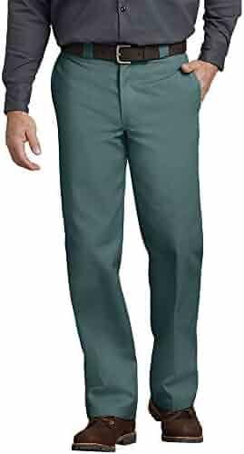 Dickies Men's Original 874 Work Pant, Lincoln Green, 33W x 32L