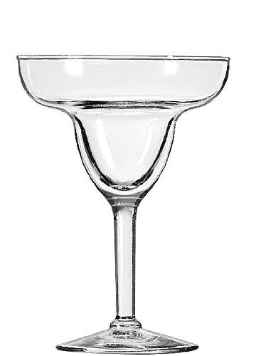 Libbey 9-Ounce Preston Margarita Glass, Clear, 4-Piece (4 Piece Margarita)