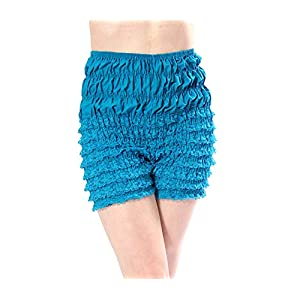 Malco Modes Adult Pettipants, Style N29, Woman Costume Shorts, Sexy Ruffle Panties, Lacey Dance Shorts, Boyshorts