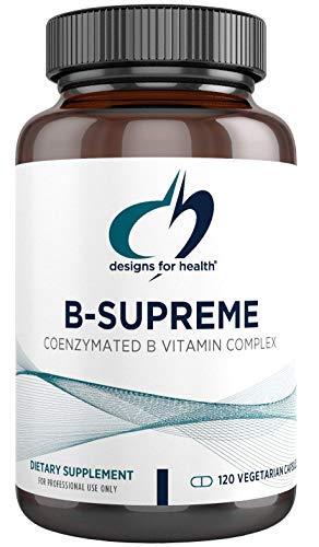 Designs for Health – B-Supreme B Vitamin Combination Formula, 120 Vegetarian Capsules