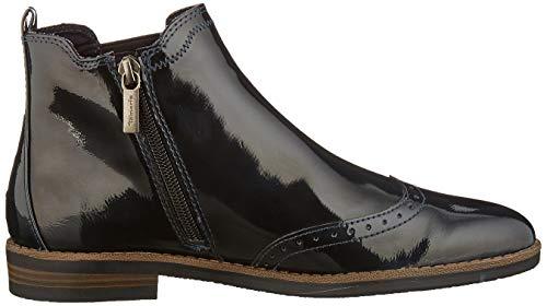 Tamaris Damen 1-1-25313-23 Chelsea Boots, Blau (Navy Patent 826), 38 EU 6