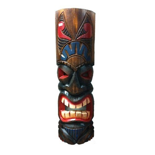 Forever Bamboo MASK20-8 Hawaiian Tiki Mask, 20