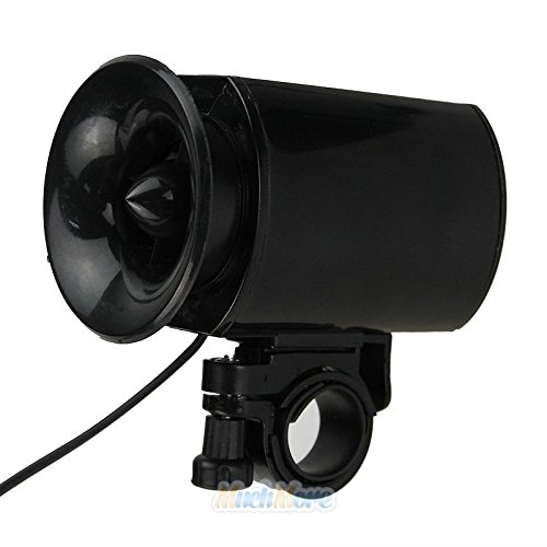 6-sounds Bike Bicycle Cylcing Super-loud Electronic Siren Horn Bell Ring Alarm by Unknown (Image #2)