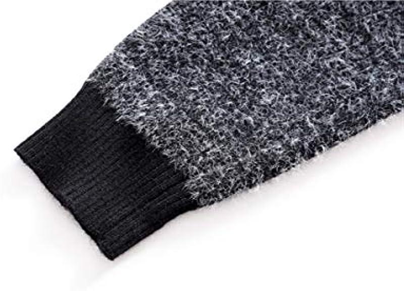 N/F Winter Christmas Sweater Męskie Christmas Deer Print Męskiepullover Lässiger O-Ausschnitt Męskiepullover Slim Sweater Pull Men: Küche & Haushalt