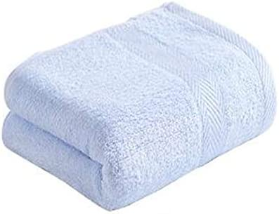 CQIANG タオル、強力吸収タオル、[5点セット]ホワイト/イエローマルチカラーオプション74 * 33 Cm / 29.6 * 13.2インチ (Color : Blue)
