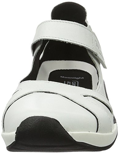 camel active Moonlight 71 - Ballerine Donna, Bianco (White 04), 42 EU