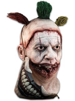 Trick or Treat Studios Mens Twisty The Clown Deluxe Mask, Multi, One-Size by Trick Or Treat Studios (Image #2)