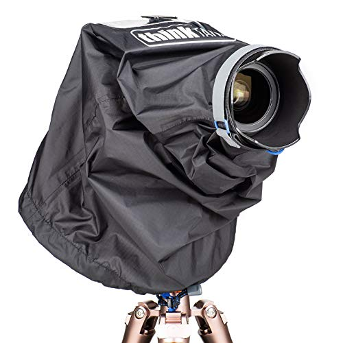 Think Tank Photo Emergency Rain Covers for DSLR and Mirrorless Cameras with up to a 24-70mm Lens – Small