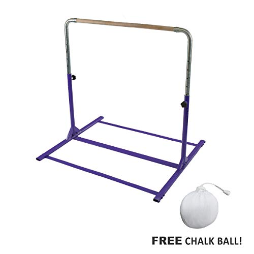 - Tumbl Trak Expandable Gymnastics Training Jr Kip Bar, Purple