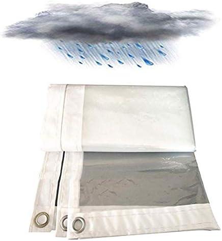 FQJYNLY 防水シートプラスチック保護フィルムダストカバーは屋外ガーデニング、厚さ0.12mm、25サイズを絶縁 (Color : Clear, Size : 3x5m)