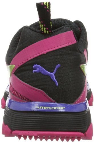 Puma Faas 500 Tr Wns - Zapatos Mujer Rosa (Pink (beetroot purple-black-sunny lime 04))