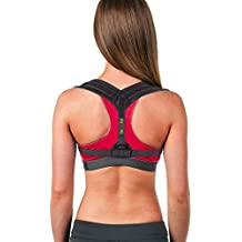 Posture Brace - Comfortable Posture Corrector for Women and Men - Back Brace - Physical Therapy Clavicle Support - Corrects Slouching, Hunching & Bad Posture