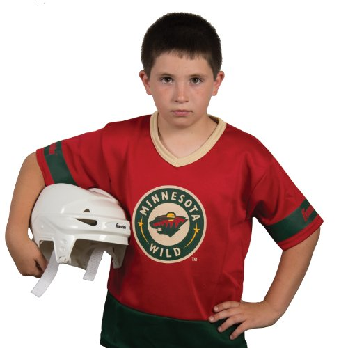 Hockey Puck Costumes (Franklin Sports NHL Minnesota Wild Youth Team Set)