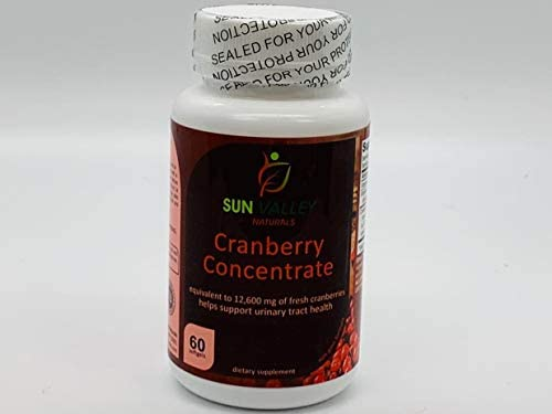 Cranberry Concentrate Pills 12,600 Milligram of Fresh Cranberrie