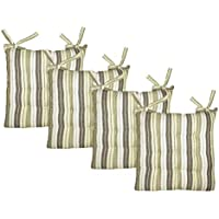 Cotton Craft - 4 Pack Natural Light Olive Salsa Stripe...