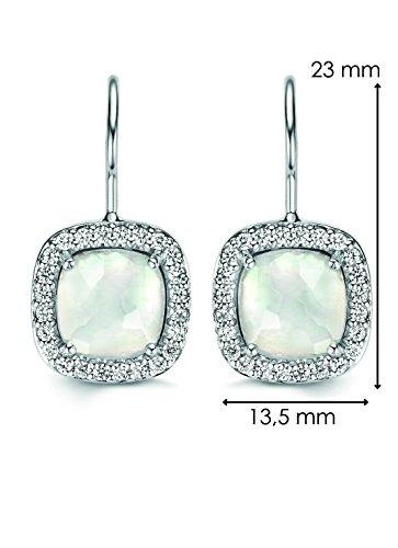 Ti Sento - Boucles d'oreilles - Argent plaqué rhodium 925 - 7555MW