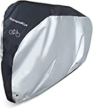 RengaoRise Bike Cover Outdoor Storage Waterproof, 210D Heavy Duty Motorcycle Bicycle Cover for 1 Bike, Mountai